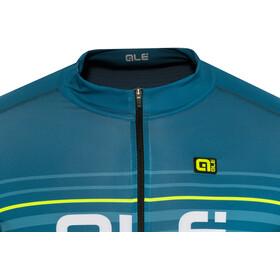 Alé Cycling Graphics PRR Salita Shortsleeve Jersey Herren lagoon-flou yellow